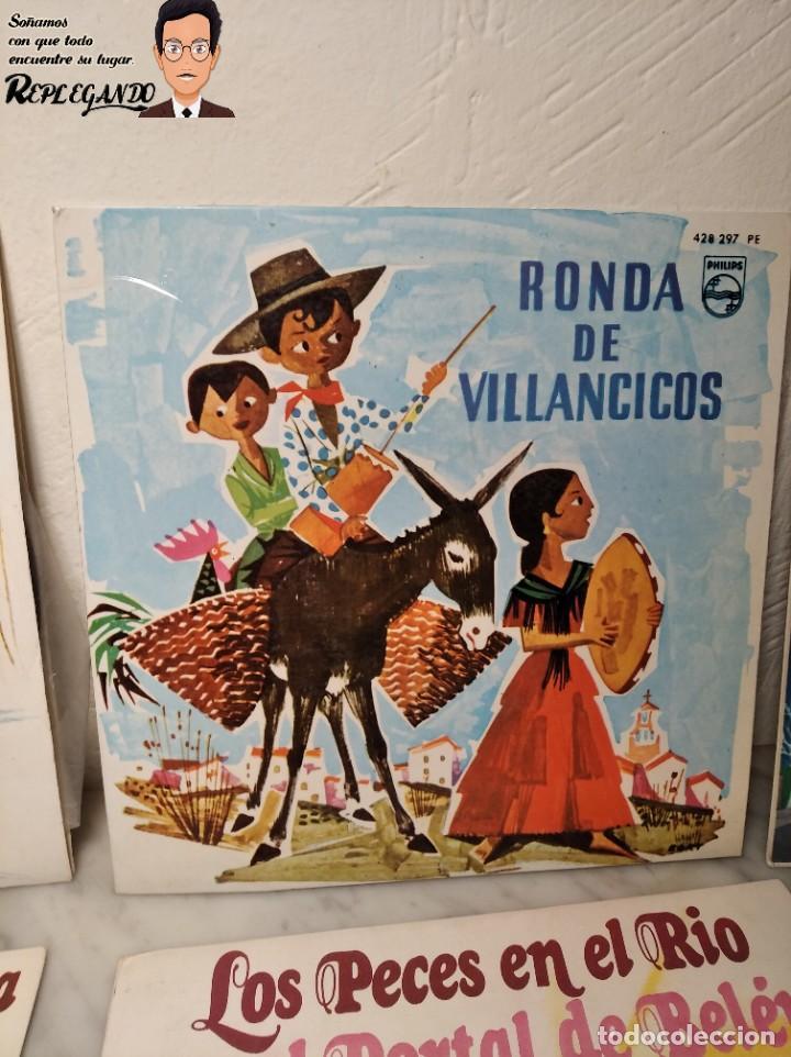 Discos de vinilo: GRAN LOTE 27 DISCOS DE VINILO ( 20 VILLANCICOS + 4 CANCIONES INFANTILES + 3 CUENTOS) - Foto 3 - 219418147