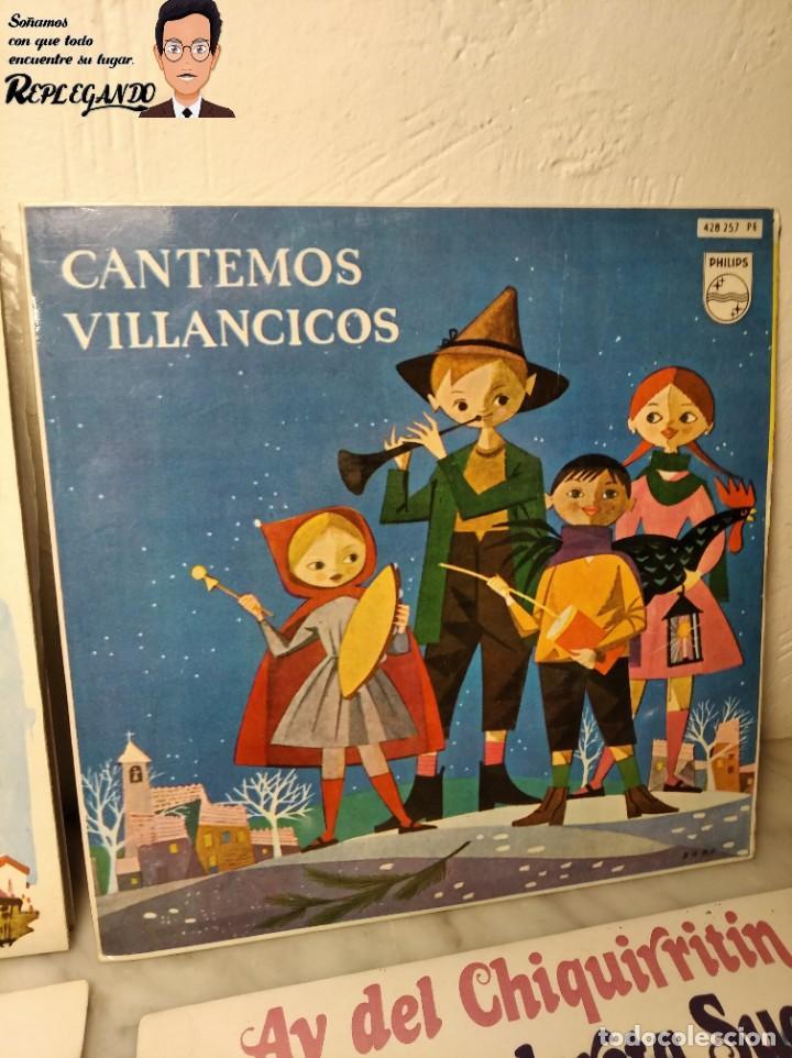 Discos de vinilo: GRAN LOTE 27 DISCOS DE VINILO ( 20 VILLANCICOS + 4 CANCIONES INFANTILES + 3 CUENTOS) - Foto 4 - 219418147