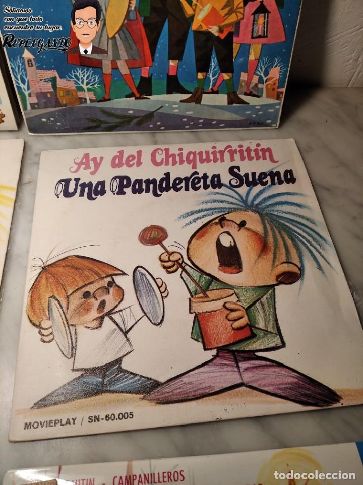 Discos de vinilo: GRAN LOTE 27 DISCOS DE VINILO ( 20 VILLANCICOS + 4 CANCIONES INFANTILES + 3 CUENTOS) - Foto 7 - 219418147
