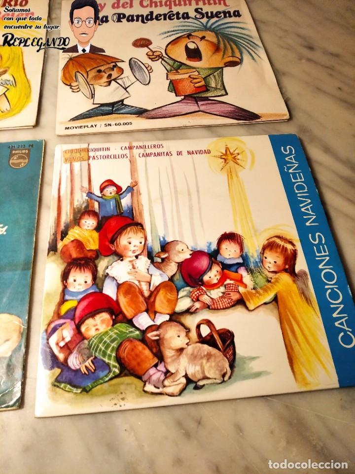 Discos de vinilo: GRAN LOTE 27 DISCOS DE VINILO ( 20 VILLANCICOS + 4 CANCIONES INFANTILES + 3 CUENTOS) - Foto 10 - 219418147