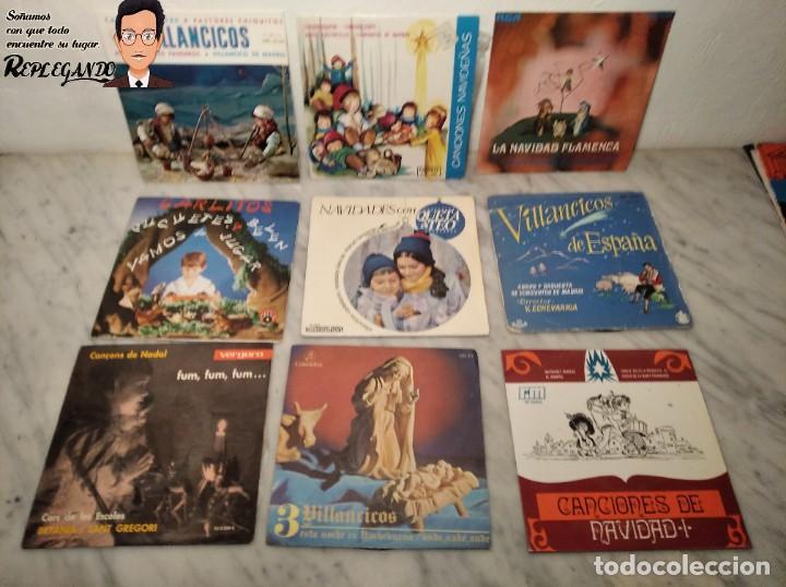 Discos de vinilo: GRAN LOTE 27 DISCOS DE VINILO ( 20 VILLANCICOS + 4 CANCIONES INFANTILES + 3 CUENTOS) - Foto 11 - 219418147
