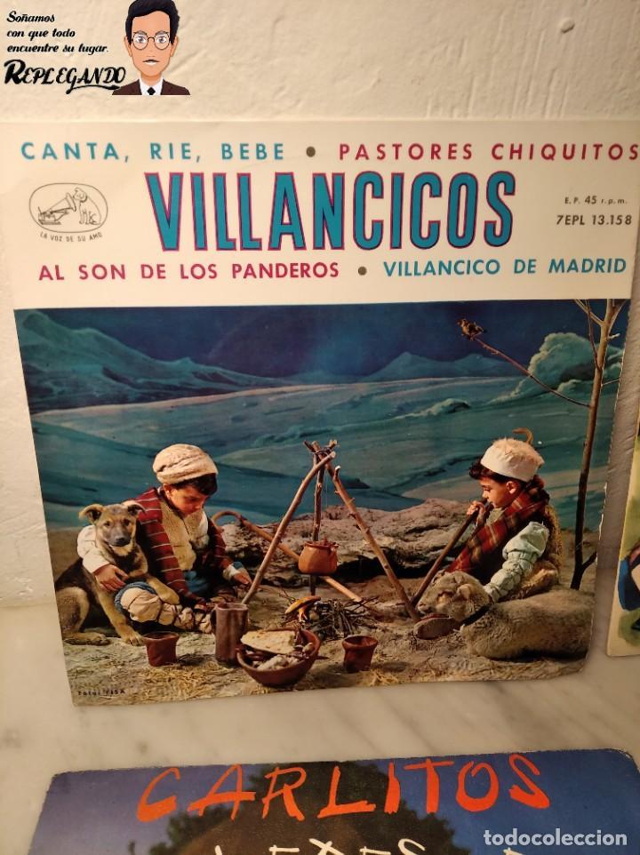Discos de vinilo: GRAN LOTE 27 DISCOS DE VINILO ( 20 VILLANCICOS + 4 CANCIONES INFANTILES + 3 CUENTOS) - Foto 12 - 219418147