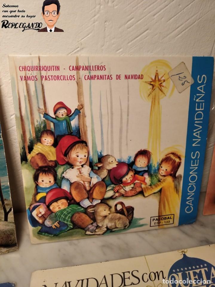 Discos de vinilo: GRAN LOTE 27 DISCOS DE VINILO ( 20 VILLANCICOS + 4 CANCIONES INFANTILES + 3 CUENTOS) - Foto 13 - 219418147