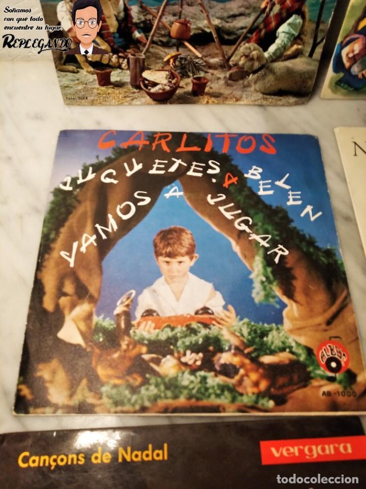 Discos de vinilo: GRAN LOTE 27 DISCOS DE VINILO ( 20 VILLANCICOS + 4 CANCIONES INFANTILES + 3 CUENTOS) - Foto 15 - 219418147
