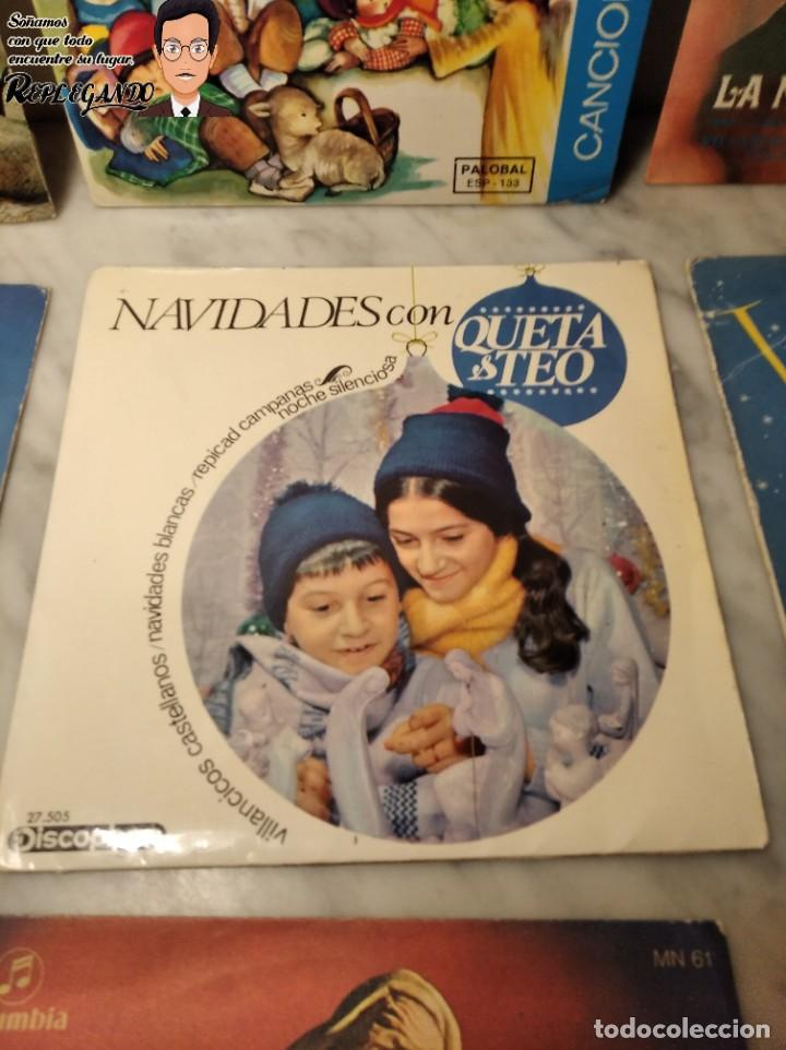 Discos de vinilo: GRAN LOTE 27 DISCOS DE VINILO ( 20 VILLANCICOS + 4 CANCIONES INFANTILES + 3 CUENTOS) - Foto 16 - 219418147