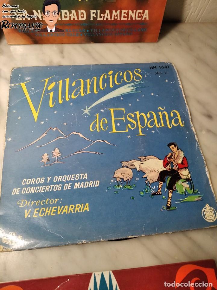 Discos de vinilo: GRAN LOTE 27 DISCOS DE VINILO ( 20 VILLANCICOS + 4 CANCIONES INFANTILES + 3 CUENTOS) - Foto 17 - 219418147