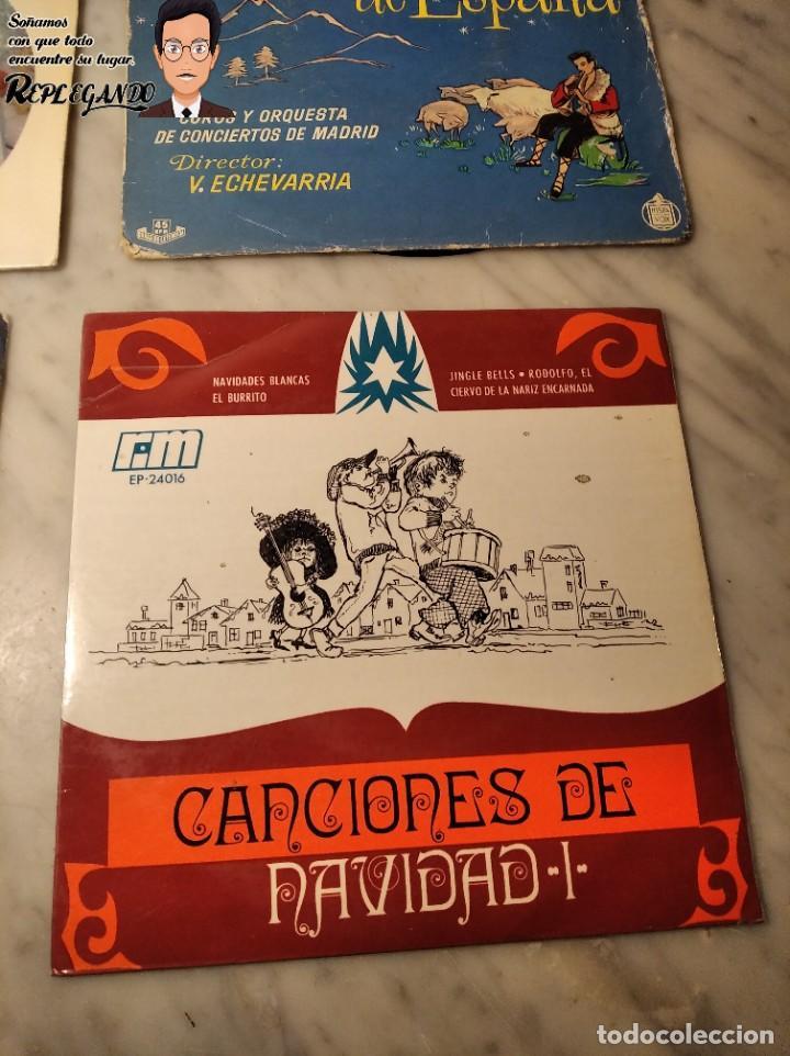 Discos de vinilo: GRAN LOTE 27 DISCOS DE VINILO ( 20 VILLANCICOS + 4 CANCIONES INFANTILES + 3 CUENTOS) - Foto 20 - 219418147