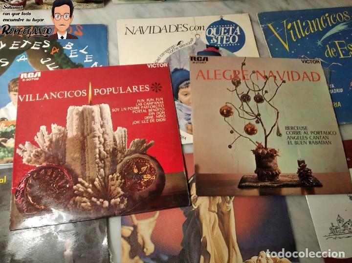 Discos de vinilo: GRAN LOTE 27 DISCOS DE VINILO ( 20 VILLANCICOS + 4 CANCIONES INFANTILES + 3 CUENTOS) - Foto 21 - 219418147
