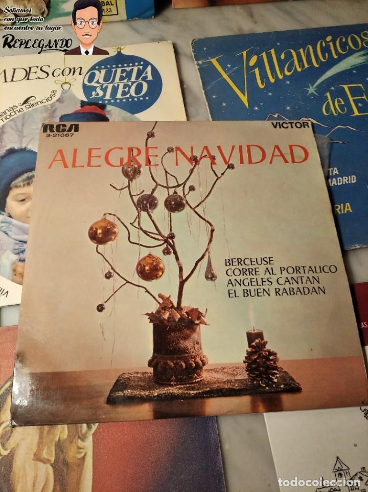 Discos de vinilo: GRAN LOTE 27 DISCOS DE VINILO ( 20 VILLANCICOS + 4 CANCIONES INFANTILES + 3 CUENTOS) - Foto 23 - 219418147