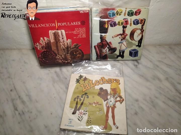 Discos de vinilo: GRAN LOTE 27 DISCOS DE VINILO ( 20 VILLANCICOS + 4 CANCIONES INFANTILES + 3 CUENTOS) - Foto 35 - 219418147