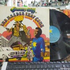Discos de vinilo: JIMMY CLIFF LP THE HARDER THEY COME B.S.O. ESPAÑA 1980. Lote 219421385