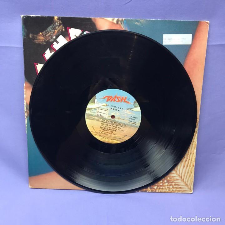 Discos de vinilo: LP-- ASHA LINDIANA -- 1978 ITALY - Foto 2 - 219422026