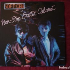 Discos de vinilo: SOFT CELL - NON STOP EROTIC CABARET. LP VINILO. NUEVO. PRECINTADO. Lote 219428381