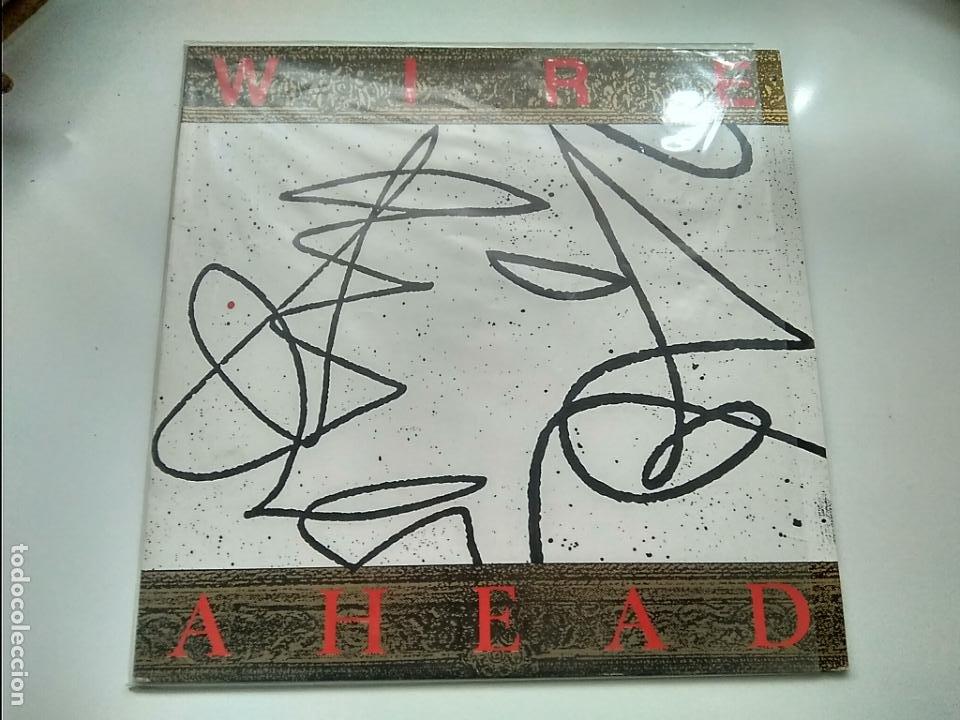 MAXI SINGLE - WIRE - AHEAD. MUTE RECORDS 1987. PERFECTO ESTADO. (Música - Discos de Vinilo - Maxi Singles - Pop - Rock - New Wave Extranjero de los 80)