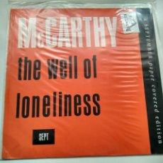 Discos de vinilo: MAXI SINGLE - MCCARTHY. THE WELL OF LONELINESS. RADICAL RECORDS 1988. PERFECTO ESTADO.. Lote 219429511