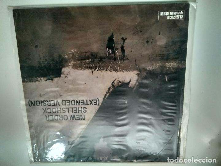 MAXI SINGLE - NEW ORDER. SHELLSHOCK. FACTORY RECORDS 19868. PERFECTO ESTADO. (Música - Discos de Vinilo - Maxi Singles - Pop - Rock - New Wave Extranjero de los 80)