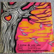 Discos de vinilo: COLECCIÓN SUPERVENTAS - STARLUX - 4 ÉXITOS DE ESTE AÑO - EP - PATA-PATA + 3 - AÑO 1968 - BUEN ESTADO. Lote 219429990