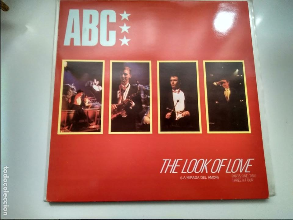 MAXI SINGLE - ABC - THE LOOK OF LOVE. MERCURY 1982.. PERFECTO ESTADO. (Música - Discos de Vinilo - Maxi Singles - Pop - Rock - New Wave Extranjero de los 80)