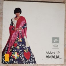 Discos de vinilo: AMALIA RODRIGES- AMALIA CANTA PORTUGAL FOLCLORE 2 SLEM 2254. Lote 219433228