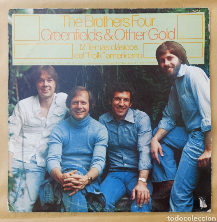 LP THE BROTHERS FOUR - GREEN & OTHER GOLD (Música - Discos - LP Vinilo - Country y Folk)