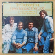 Discos de vinilo: LP THE BROTHERS FOUR - GREEN & OTHER GOLD. Lote 219440876