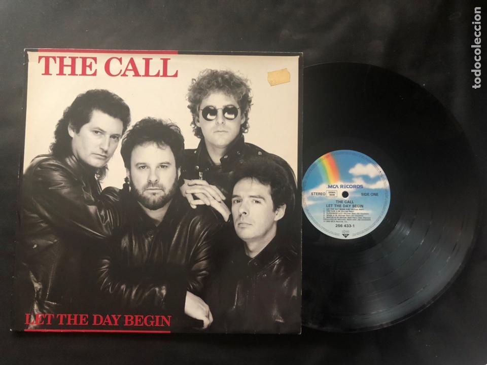 THE CALL ?– LET THE DAY BEGIN (Música - Discos de Vinilo - Maxi Singles - Pop - Rock - New Wave Extranjero de los 80)