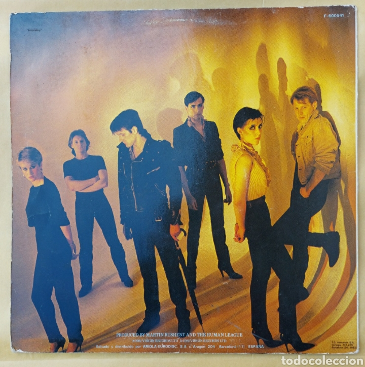 Discos de vinilo: Maxi Single - The human league- Mirror man-1982 - Foto 2 - 219441640