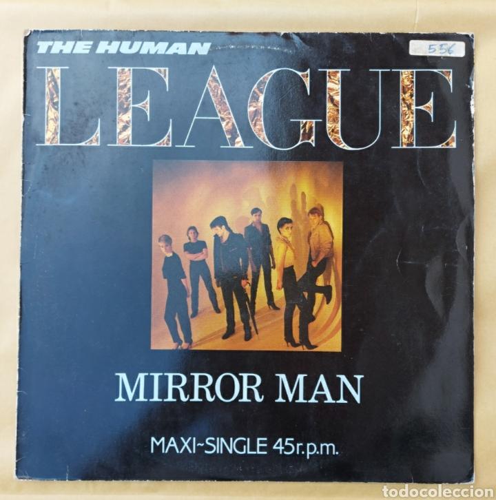 MAXI SINGLE - THE HUMAN LEAGUE- MIRROR MAN-1982 (Música - Discos de Vinilo - Maxi Singles - Pop - Rock - New Wave Extranjero de los 80)