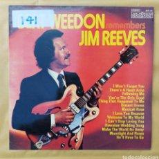 Discos de vinilo: LP BERT WEEDON - REMEMBER JIM REEVES - 1973 - EDIC. ITALIANA. Lote 219441951