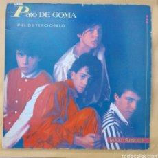 Discos de vinilo: MAXI SINGLE PATO DE GOMA - PIEL DE TERCIOPELO- 1984. Lote 219442820