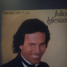 "Discos de vinilo: JULIO IGLESIAS "" 1100 BEL AIR PLACE "". Lote 219443492"