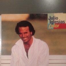 """Discos de vinilo: JULIO IGLESIAS """" CALOR """". NUEVO POR ESTRENAR. OCASIÓN!!!!!!. Lote 219444081"""