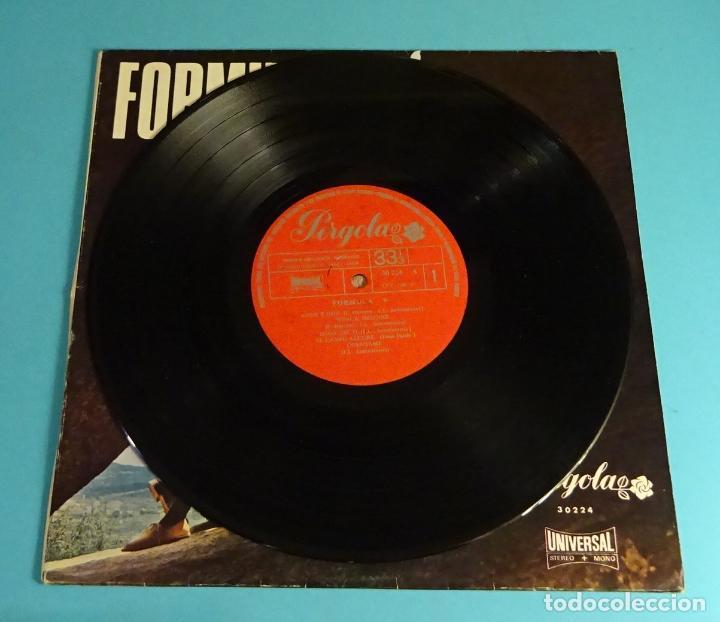 Discos de vinilo: FÓRMULA V. UNIVERSAL 1969. LP DE 10 PULGADAS - Foto 3 - 219445455