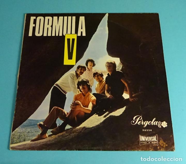 FÓRMULA V. UNIVERSAL 1969. LP DE 10 PULGADAS (Música - Discos - LP Vinilo - Grupos Españoles 50 y 60)
