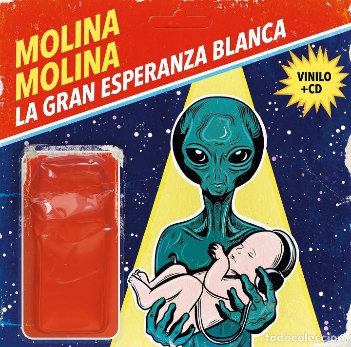 MOLINA MOLINA * LP VINILO 180G + CD *LA GRAN ESPERANZA BLANCA* PRECINTADO!! (Música - Discos - LP Vinilo - Solistas Españoles de los 70 a la actualidad)