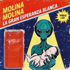 Discos de vinilo: MOLINA MOLINA * LP VINILO 180G + CD *LA GRAN ESPERANZA BLANCA* PRECINTADO!!. Lote 219453595