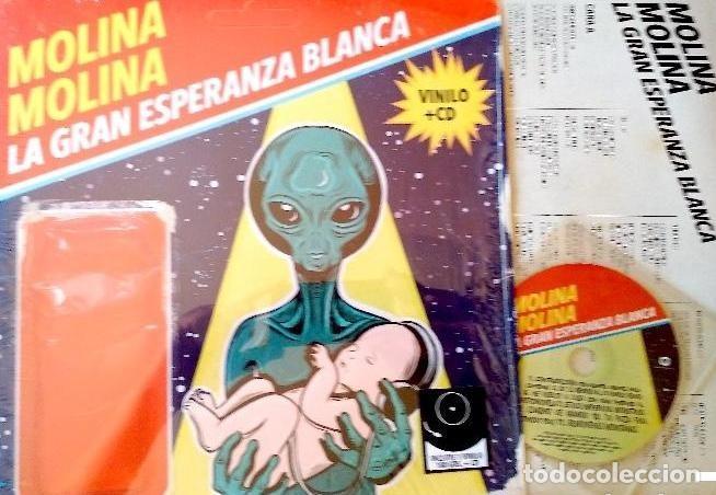 Discos de vinilo: MOLINA MOLINA * LP Vinilo 180g + CD *La Gran Esperanza Blanca* Precintado!! - Foto 2 - 219453595