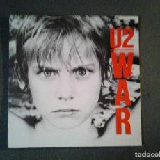 Discos de vinilo: U2-WAR- LP ISLAND RECORDS 1983 ED. ESPAÑOLA GATEFOLD SLEEVE MUY BUENAS CONDICIONES.. Lote 219470950