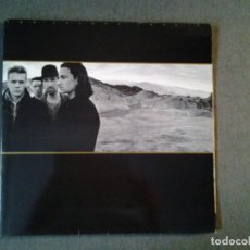 Discos de vinilo: U2 -THE JOSHUA TREE - LP ISLAND RECORDS 1987 ED. ESPAÑOLA 5F 208219 GATEFOLD SLEEVE MUY BUENAS CONDI. Lote 219471467
