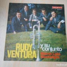 Dischi in vinile: RUDY VENTURA Y SU CONJUNTO, SG, MARIA LOLA + 1, AÑO 1966. Lote 219475895