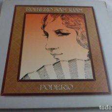 Discos de vinilo: LP ROMERO SAN JUAN. PODERÍO. Lote 219477425