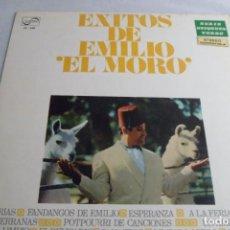 Discos de vinilo: LP EXITOS DE EMILIO EL MORO. Lote 219478608