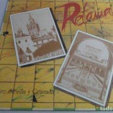 Discos de vinilo: LP RETAMA. ENTRE SEVILLA Y GRANADA. Lote 219479000
