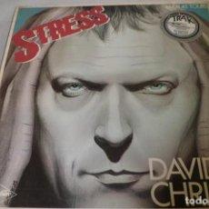Discos de vinilo: MAXI SINGLE. DAVID CHRISTIE. STRESS.. Lote 219479790
