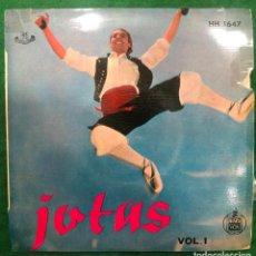 Discos de vinilo: JOTAS VOL. 1 / EP DE 1959 RF-4575. Lote 219483651