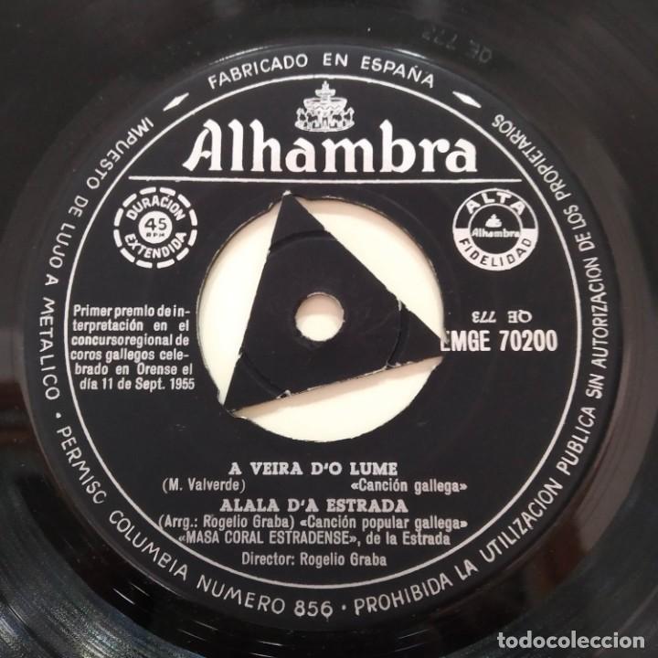 Discos de vinilo: Masa Coral Estradense De La Estrada EP Galicia Galiza - Foto 3 - 219486256