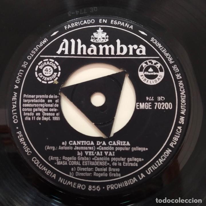 Discos de vinilo: Masa Coral Estradense De La Estrada EP Galicia Galiza - Foto 4 - 219486256