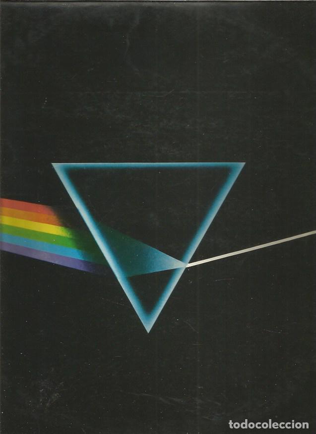 PINK FLOYD THE DARK SIDE CON POSTERS STICKERS (Música - Discos - LP Vinilo - Pop - Rock - Internacional de los 70)