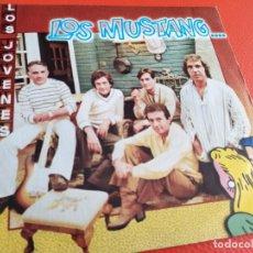 Discos de vinilo: LOS MUSTANG. LOS JOVENES, 1980. DISCO SINGLE.. Lote 219499665