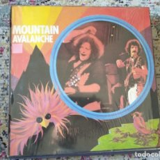 Disques de vinyle: MOUNTAIN - AVALANCHE - CASTLE CLASSICS,MADE IN ENGLAND. Lote 219506406